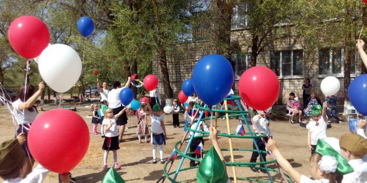 Празднование 9 мая в Лобачевской школе